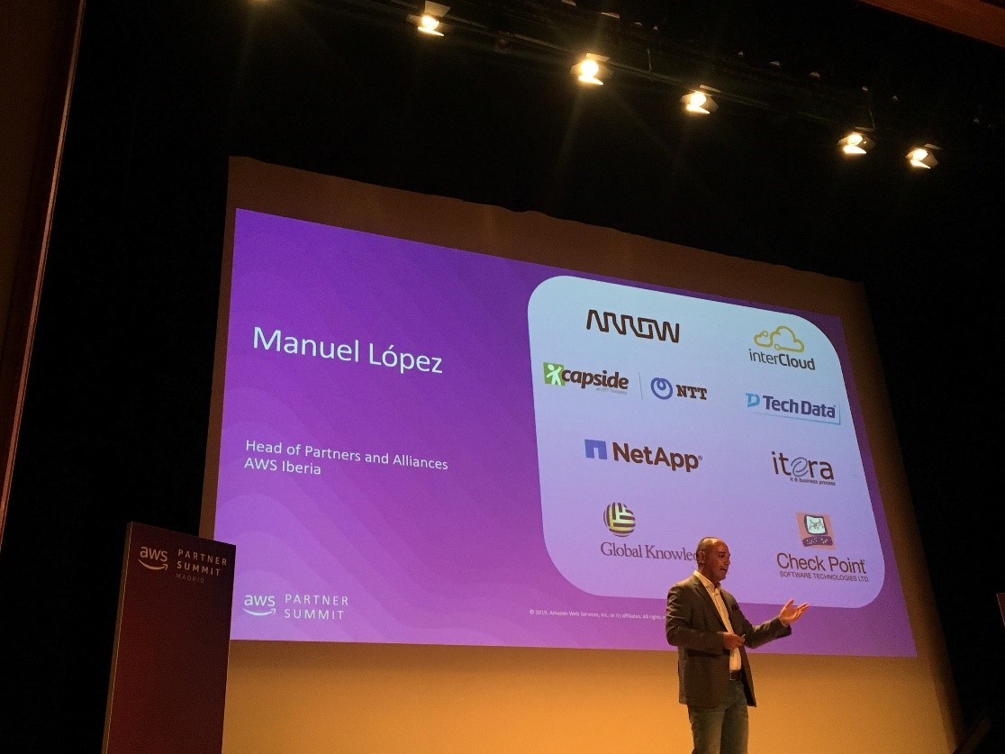AWS Partner Summit Madrid 2019: Supporting its partners' growth strategy with training